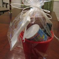 Quick and Easy Hostess Gift ideas out of Sand Buckets