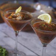 Gazpacho Soup Recipe with Shrimp