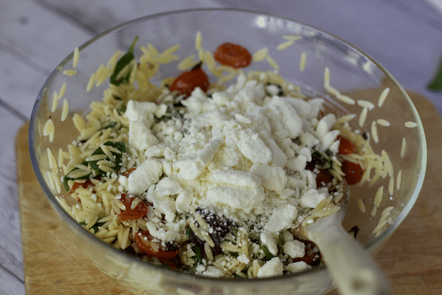 Roasted Tomato and Orzo Salad Recipe