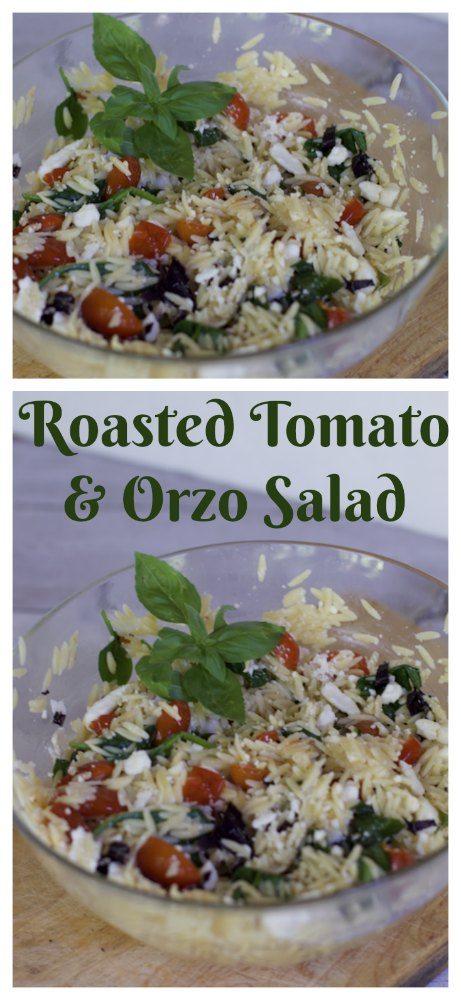 Roasted Tomato and Orzo Salad Recipe