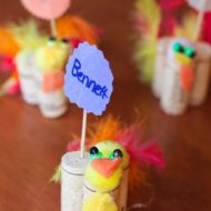 Thanksgiving Place Cards And Thanksgiving Kids Favors