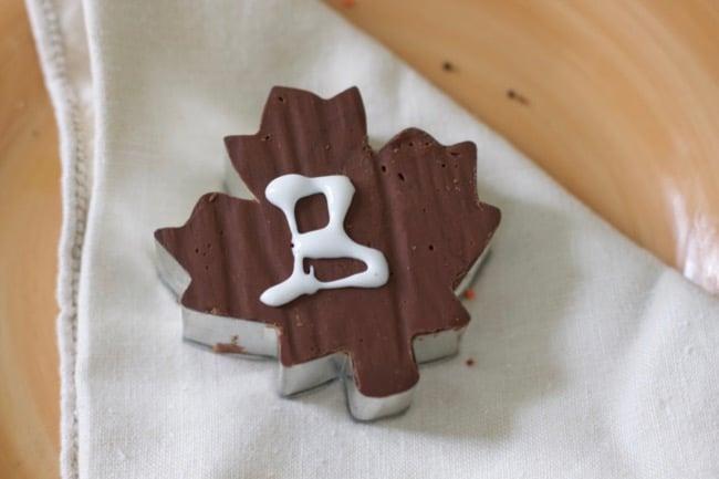 easy fudge recipe place card