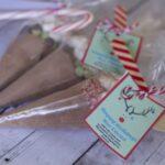 DIY Hot Cocoa Cones & Free Printable