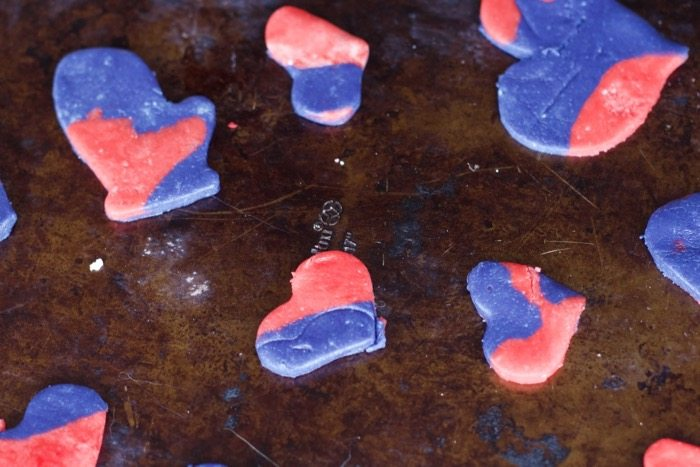 Play Dough Valentines Day Heart Cookies