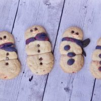 Snowmen Sugar Cookies Perfect for a Snowday