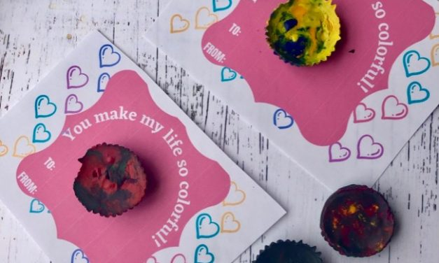 Make Recycled Crayons for Valentines Day