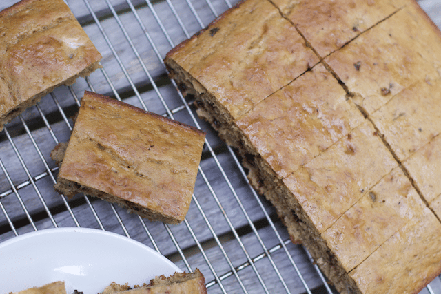 Super Easy Banana Snack Cake Recipe