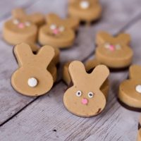 Peanut Butter Bunnies or Homemade Easter Reeses