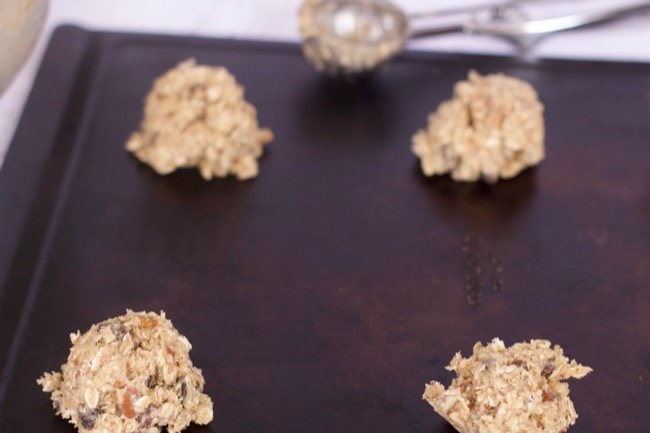 Oatmeal Cookies Recipe balls