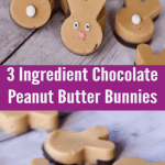 Easter Peanut Butter Chocolate Bunnies (Homemade Reeses Cups) 6