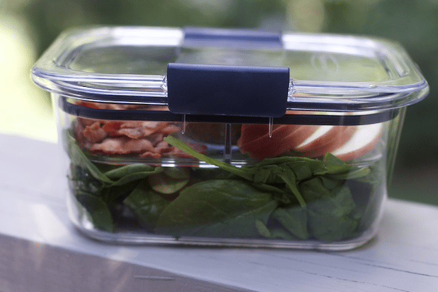 Spinach Salad Recipe Salad & SNACK SET