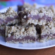 Chocolate Oat Bars Recipe-No baking required