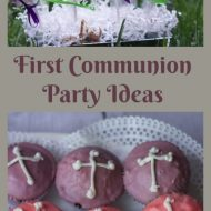 Last Minute First Holy Communion Party Ideas