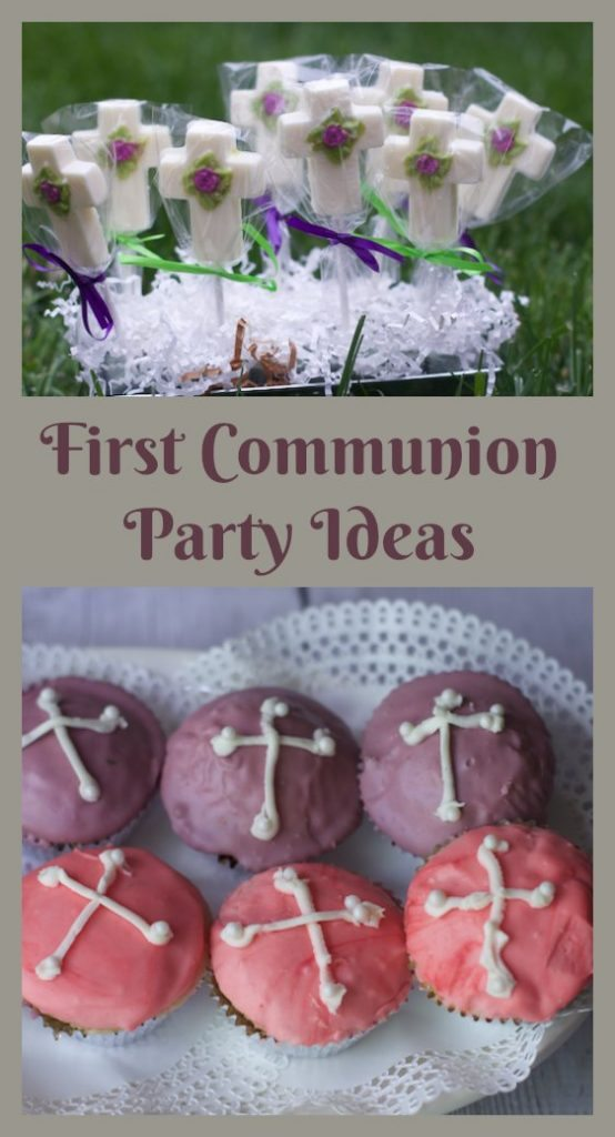 Last Minute First Communion Party Ideas