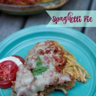 Kids Favorite Spaghetti Pie Recipe