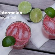 Watermelon Margaritas …a great way to start summer