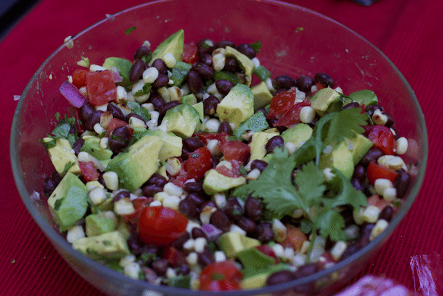 Perfectly Spicy Black Bean And Grilled Corn Salsa Recipe