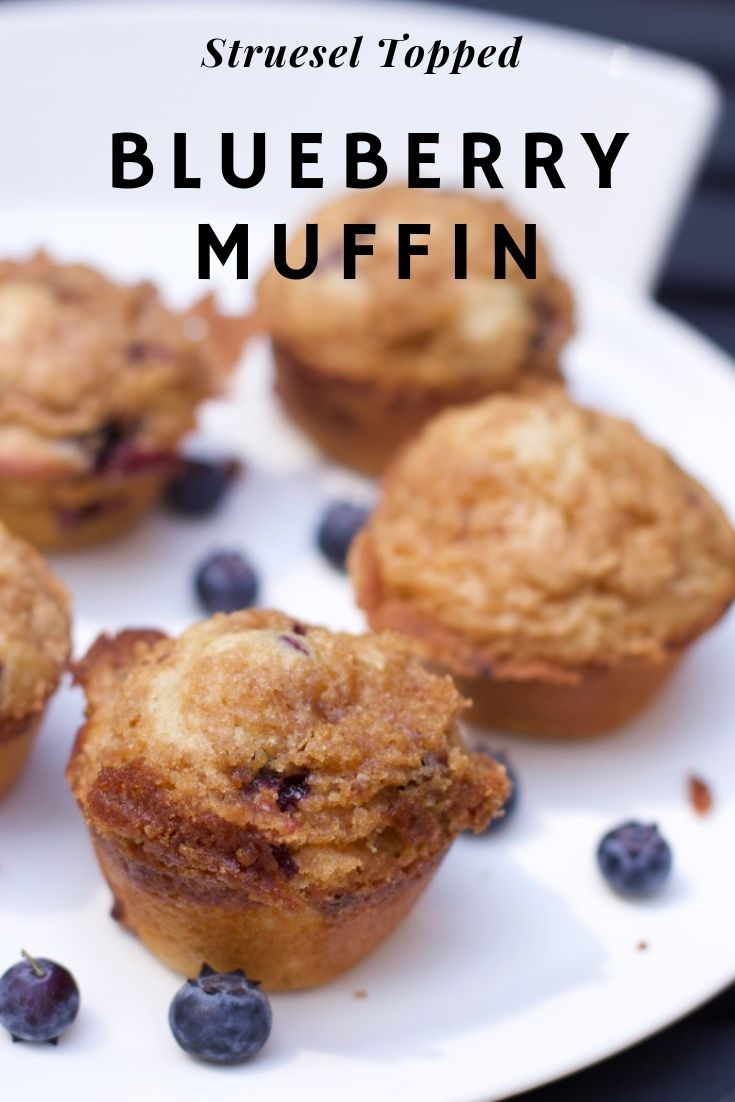 Blueberry Muffin-Barefoot Contessa Streusel Blueberry Muffins
