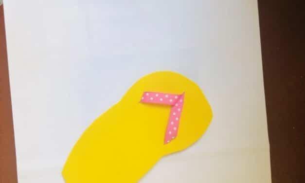 Flip Flop Themed Crafts