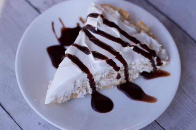6 ingredient no bake peanut butter pie