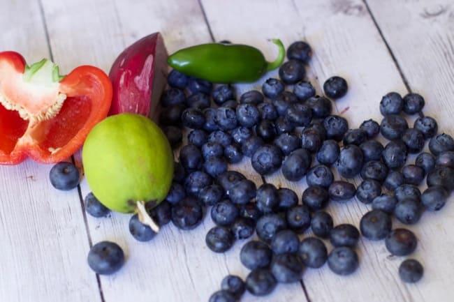 Fruit Salsa Blueberry Salsa 1