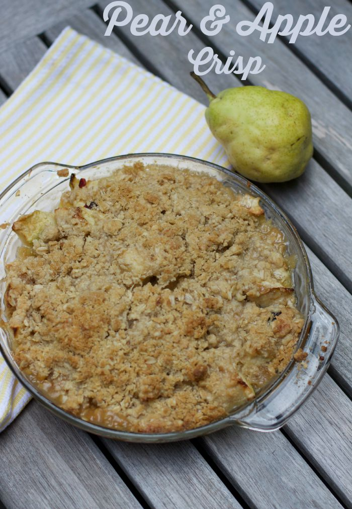 Barefoot Contessa Apple Pear Crisp Recipe