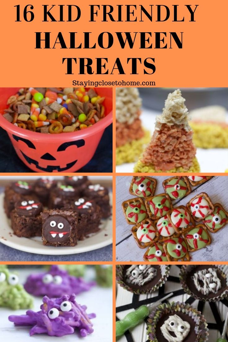 16 Kid Friendly Halloween Snack Mix