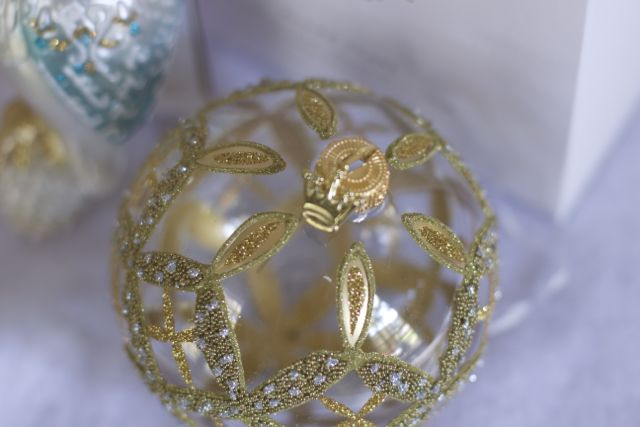 christmas ornament memory box