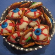 Halloween Food : Edible Eyeballs