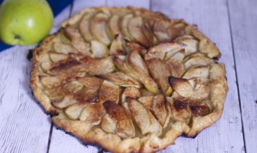 Apple Galette Recipe & Making Pastry Dough in a Food Processor