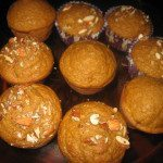 Pumpkin Muffins or Quick Bread, a quick after school snack