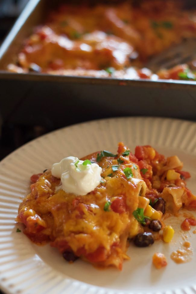 pantry lasagna recipe (tex Mex)