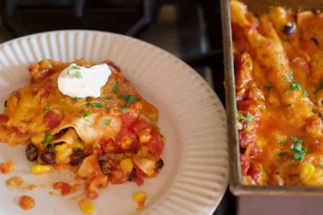 Mexican Lasagna Pantry Dish