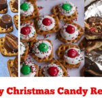 Easy Christmas Candy Treats (Fools Toffee and Pretzel Treats)