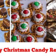 Easy Christmas Candy Treats (Fools Toffee and Pretzel Treats)