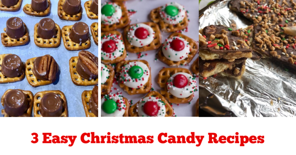 3 Family Favorite Christmas Treats (Saltine Toffee Pretzel Treats)