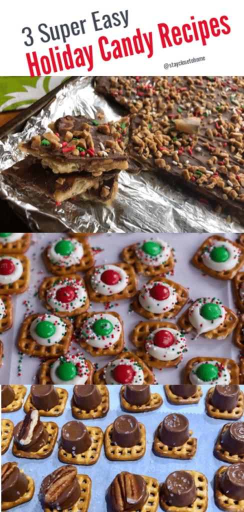 Favorite Christmas Treats Saltine Cracker Toffee 2 Easy Pretzel