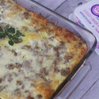 5 ingredient Egg Sausage Casserole