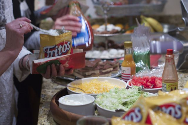 Walking Tacos --Great Party Food