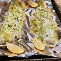 Roasted Caesar Roasted Fish Recipe