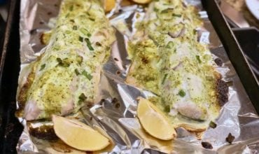 Caesar Roasted Fish Recipe Perfect for Family or Special Occasion