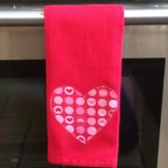 Valentine's Day Gift Idea: My first attempt at Applique