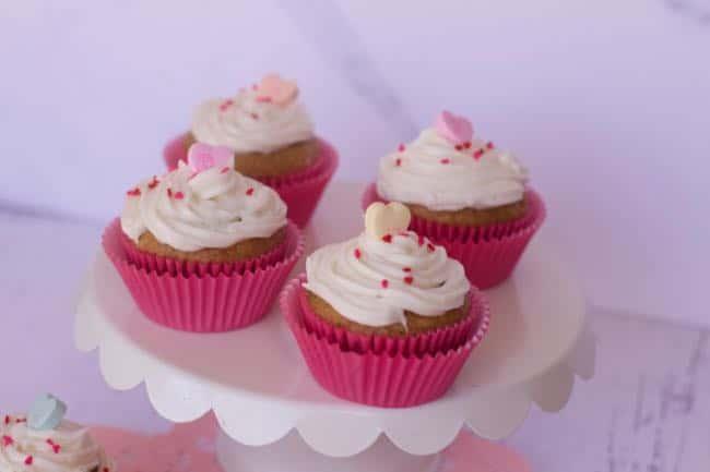 Valentines day muffins