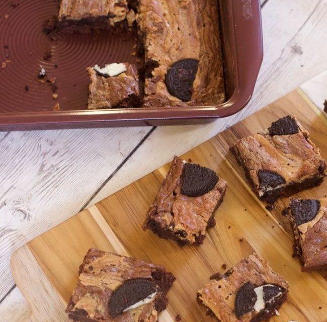 Peanut Butter Oreo Brownies Recipes