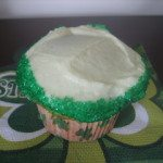 St Patrick's Day Cupcakes with a little trick too!