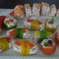 Sushi anyone…Before you say no look more carefully.