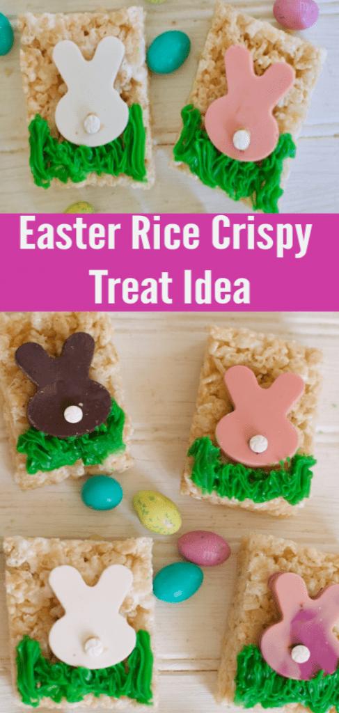 Easter Rice Krispy Treats for Easter Sunday