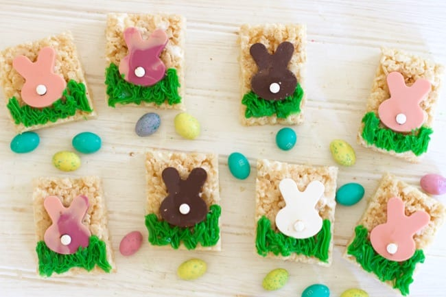 6 Fun Easter Treat Ideas (Easter Rice Krispy Treats )