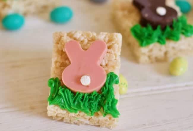 Easter Sunday Rice Krispy Treats