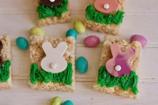 Easter Sunday Rice Krispie Treats